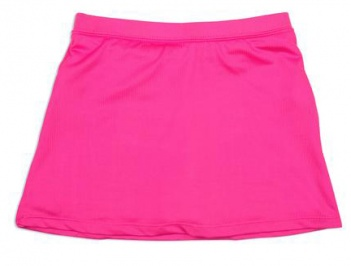 Girls pink tennis skort